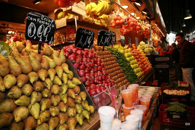 Les fruits contiennent des fibres